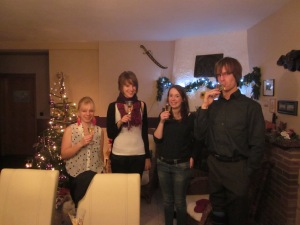 New Years toast!