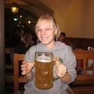 """Melissa & her """"beer"""""""