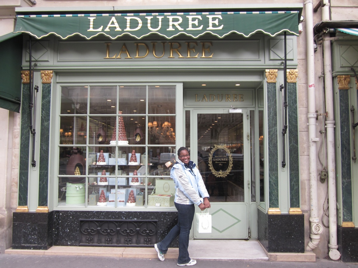 #5 Go to Laduree in Paris