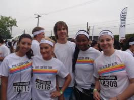 Amanda, Chantelle, Gavin, Sheena , Chelsea